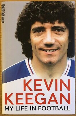 Kevin Keegan England Liverpool Newcastle Hand Signed Football Hard Back Book