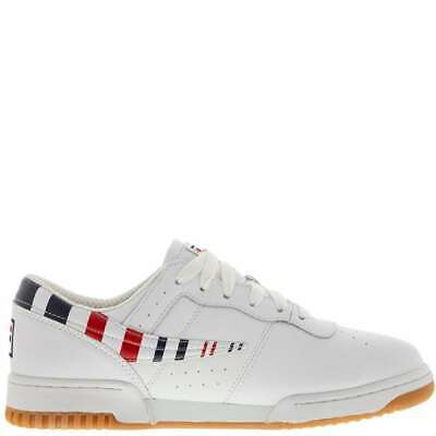 MEN'S FILA ORIGINAL Fitness Zipper 1FM00009 163 White Gold