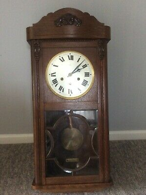 Antique Westminster Chime Wall Clock COLLECTION ONLY