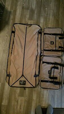 Samsonite 3 piece Carry On Weekender Overnight Bag and Garment Luggage