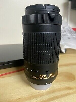 MINT Condition - Nikon AF-P DX NIKKOR 70-300mm F/4.5-6.3 G ED Lens