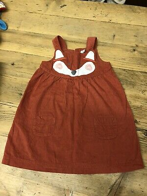 jojo maman bebe Little Fox Dress 12-18 Month