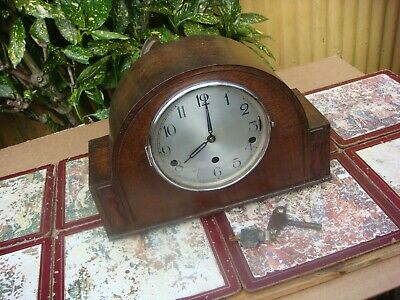 Vintage  Westminster & Whittington  Chimes Mantle  Clock  See Video See Video