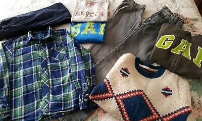 Boy's clothes bundle age 10 jumper hoodie jeans cords tshirt shirt trousers