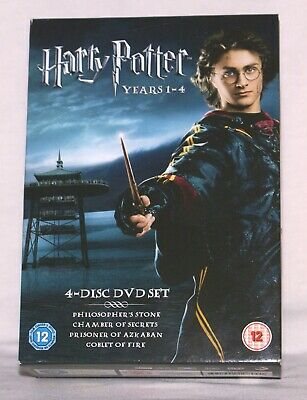 Harry Potter Years 1-4 (4 Disc Box Set)  Dvd