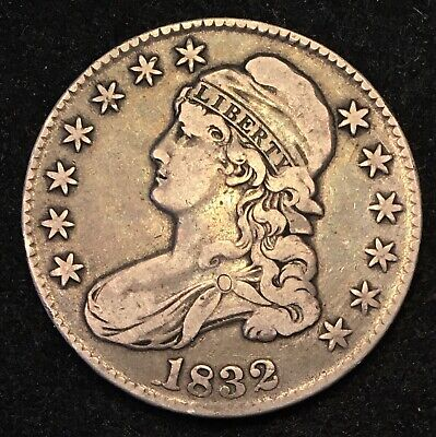 1832 Capped Bust Half Dollar VF+