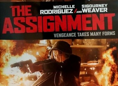 THE ASSIGNMENT ~ one BLU-RAY DISC Michelle Rodriguez, Sigourney Weaver REVENGE
