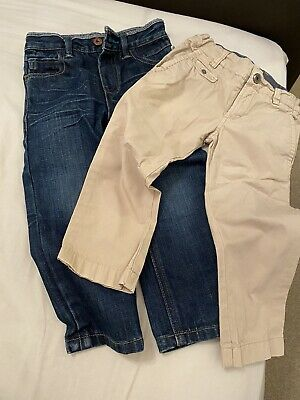 Boys Age 2 Ted Baker And Diesel Trousers/ Jeans