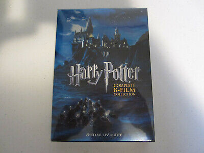 Harry Potter Complete 8-Film Collection DVD, 2011, 8-Disc Set