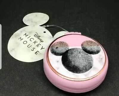 Ladies Girls Primark Disney Minnie Mouse Travel Compact Mirror With Brush