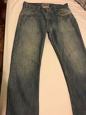 Levi 514 Jeans 34W 32L Levi's Strauss denim blue cotton Vintage Retro Classic