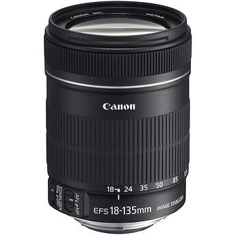 Canon EF-S 18-135mm f/3.5-5.6 IS Lens EF-S18-135IS