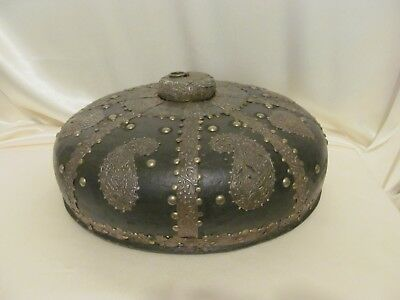 Old Indian Large Very Heavy (2850 grams) Hand Carved Wooden Tobacco Box