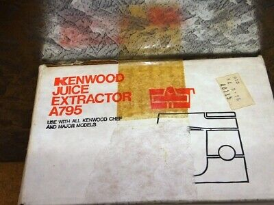 KENWOOD CHEF - Juice Extractor - A795 - (Fits all Chef models)