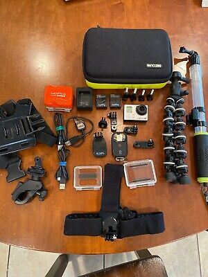 Gopro Hero 3+ Black Edition With Lots Of Accessories