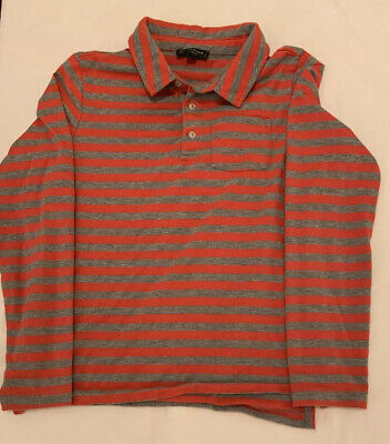 Boy's HOWICK Long Sleeve Striped Top .Age 9-10 Years VGC