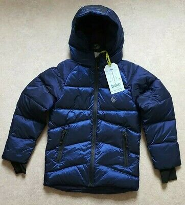 Ted BakerBoys' Blue Padded Down-Filled Showerproof Coat Age 9 Years RRP £89