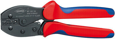 KNIPEX Steel Blue/Red 22 cm 483 g Crimping Pliers Burnished 97 52 34