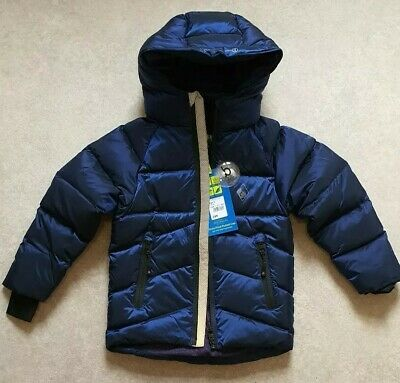 Ted BakerBoys' Blue Padded Down-Filled Showerproof Coat Age 5 Years RRP £89