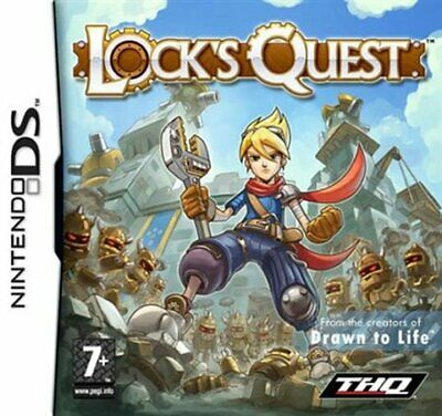 Juego Nintendo Ds Locks Quest Nds 5555782