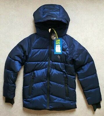 Ted BakerBoys' Blue Padded Down-Filled Showerproof Coat Age 10 Years RRP £94