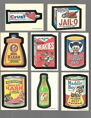 1973 Topps Wacky Packages 1st Series 1 - Lot of 60 Cards