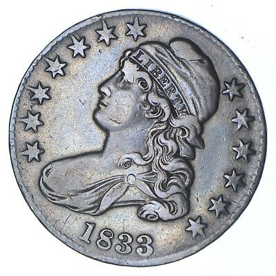 1833 Capped Bust Half Dollar - Circulated *0359
