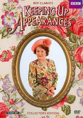 Keeping Up Appearances: Collectors Edition (DVD, 2013, 10-Disc Set) NEW Free S/H