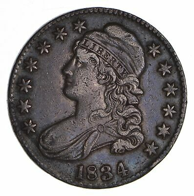 1834 Capped Bust Half Dollar - Circulated *9039