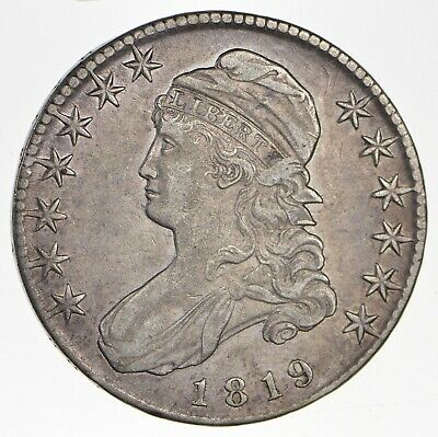 1819 Capped Bust Half Dollar - Circulated *0766