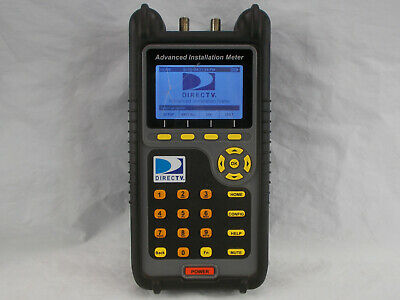 DirecTV AIM  Advanced Installation Meter AIM01R1-12 Trilithic Inc with Charger