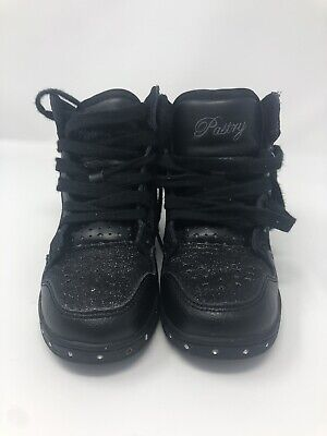 Girls Pastry Glam Pie Glitter Dance Sneakers Youth size 12