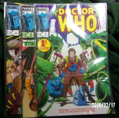 Doctor Who - Marvel  - Lot - #1-3
