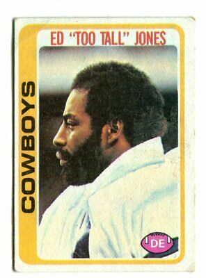 ED Too Tall JONES 1978 Topps #429 DALLAS COWBOYS