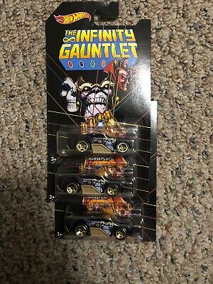 Lot of TWO Ships Free Hot Wheels The Avengers THANOS Infinity Gauntlet