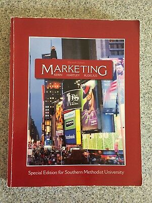 MARKETING by William Rudelius,Steve Hartley,Roger Kerin-special edition for SMU