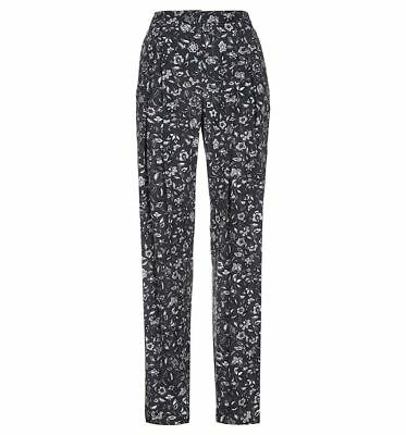 RRP £110. Hobbs Belize Black//Ivory Trousers Various Sizes