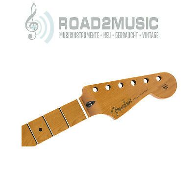 "Fender Roasted Maple Stratocaster Strat Neck 12"" Maple C Shape 0990402920"