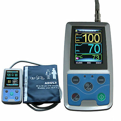 CONTEC ABPM50 Ambulatory Blood Pressure Monitor+Software 24h NIBP Holter+Adult