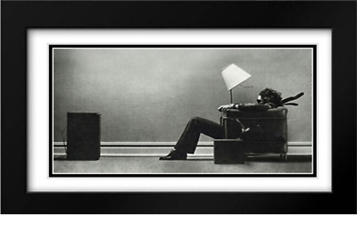 Blown Away 2x Matted 40x28 XL Black Modern Framed Art Print by Steve Steigman