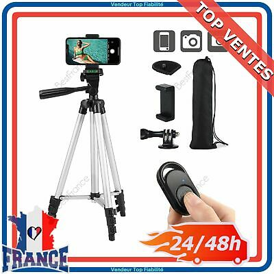 Trépied Bluetooth pour Appareil Photo Smartphone Samsung iPhone GoPro Camera 1m