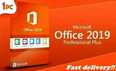 Microsoft Office 2019 Professional Plus Key 32/64 Bit Key Lifetime Genuine new