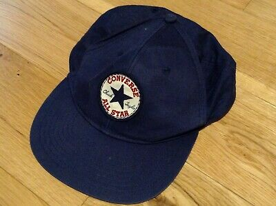 Designer Converse All Star Boys Head Baseball Cap Hat Blue 10-16 Years