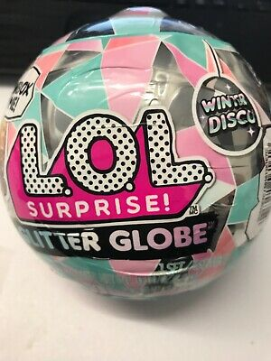 Lol Surprise Winter Disco Glitter Globe New Sealed