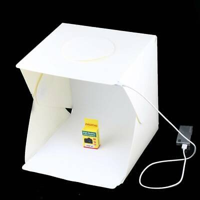 Photography Backdrop LED Light Room Tent Portable Photo Studio Lighting Box UK