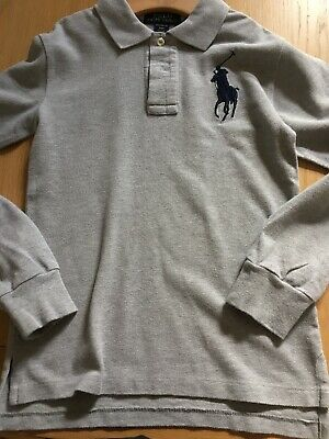 Boys Ralph Lauren Long Sleeved Polo Age 8