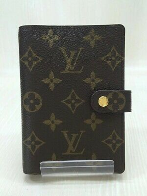 LOUIS VUITTON R20004 / Agenda MM_Monogram Canvas / Leather Brown R20004 USED