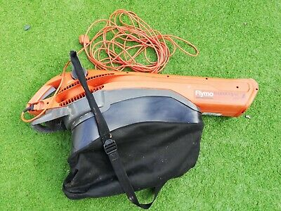 Flymo Garden vac Plus Leaf blower & Vacuum with Collection bag.