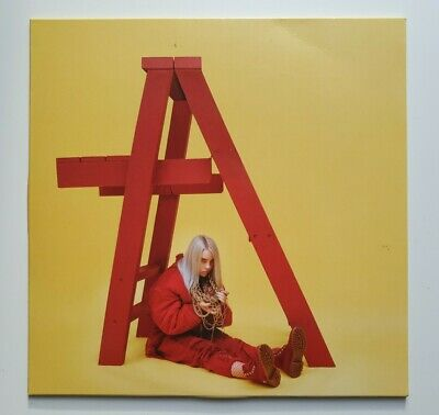 Billie Eilish - Dont Smile At Me LP Record Red Vinyl - Near MINT Played Once