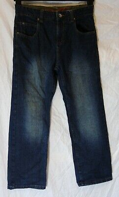 Boys Next Dark Blue Denim Straight Leg Relaxed Fit Classic Jeans Age 10 Years
